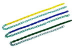 Partially Plastisol Coated Swing Chain
