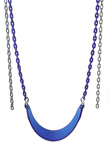 Residential Belt Swing with Plastisol Chain