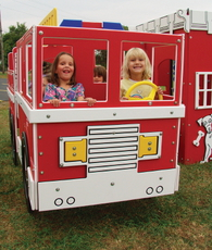 Tot Town Fire Engine