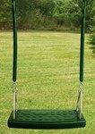 Molded Flat Swing Seat with Soft Grip Chain