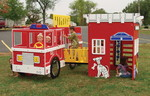 Tot Town Fire Engine House Combo