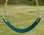 Commercial Belt Swing Seat with Heavy Duty Chain