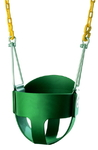 High Back Full Bucket Swing Seat with PC Chain