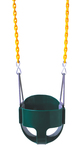 Full Bucket Swing Seat with Fully Coated Chain