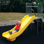 Stand-Alone Playground Slides